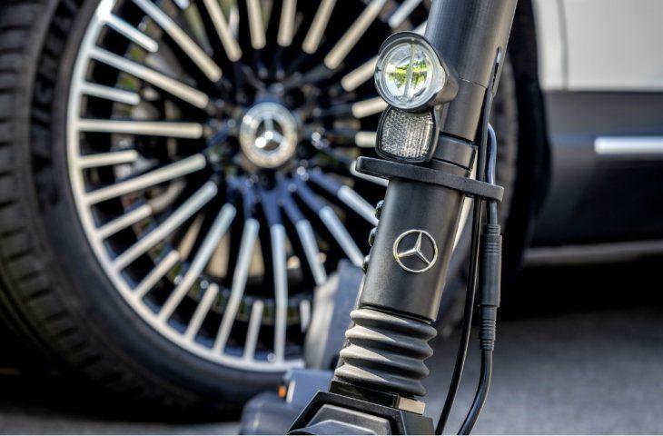 Mercedes Benz Elektrikli Scooter