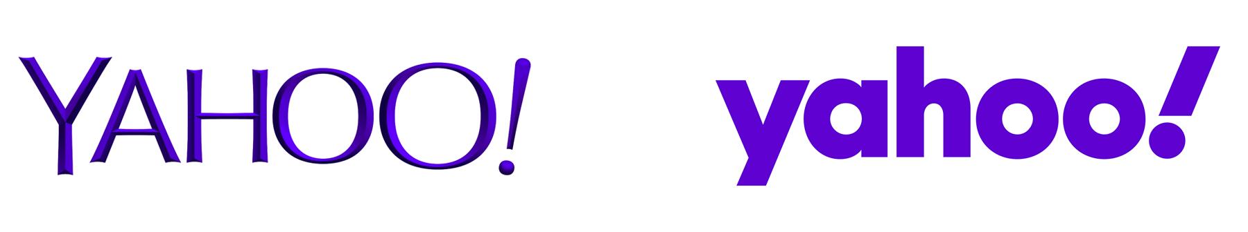 Yahoo Eski Logo İle Yeni Logo Karşılaştırılması
