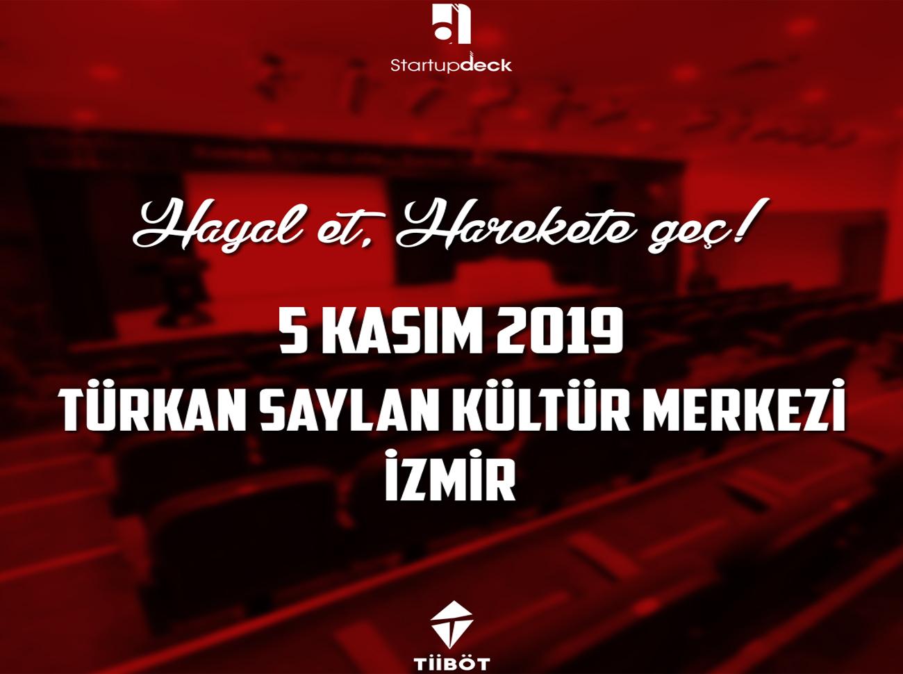 Startup Deck 5 Kasım'da İzmir'de Gerçekleşecek