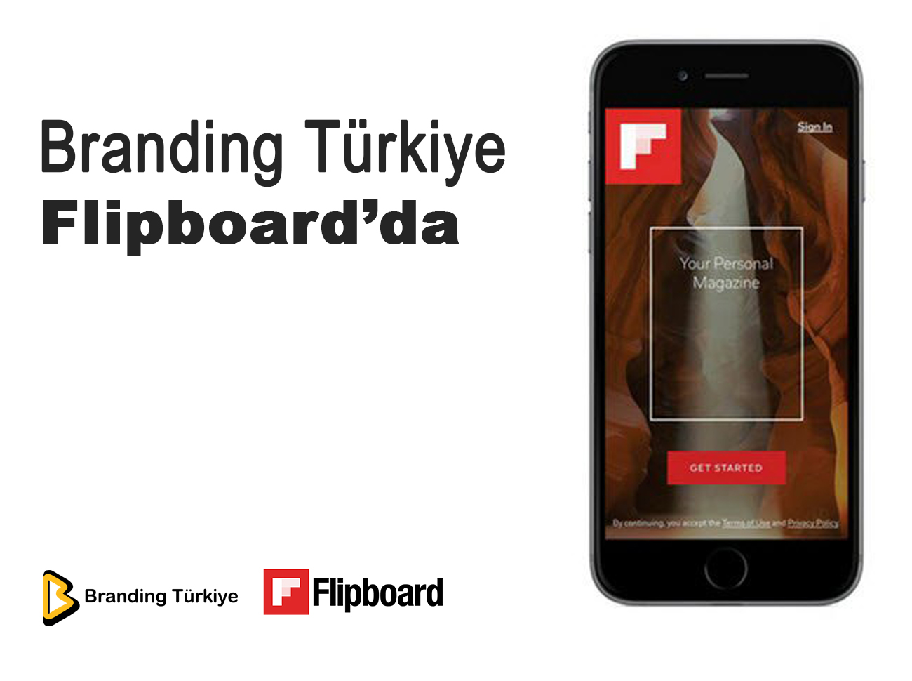 Branding Türkiye Flipboard'da