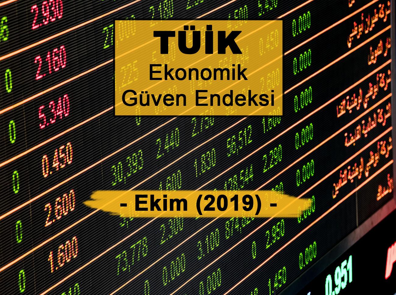 Ekonomik Güven Endeksi (Ekim 2019)