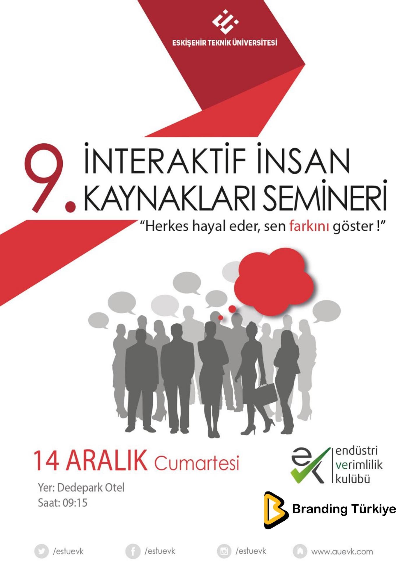 İnteraktif İnsan Kaynakları Semineri - Afiş