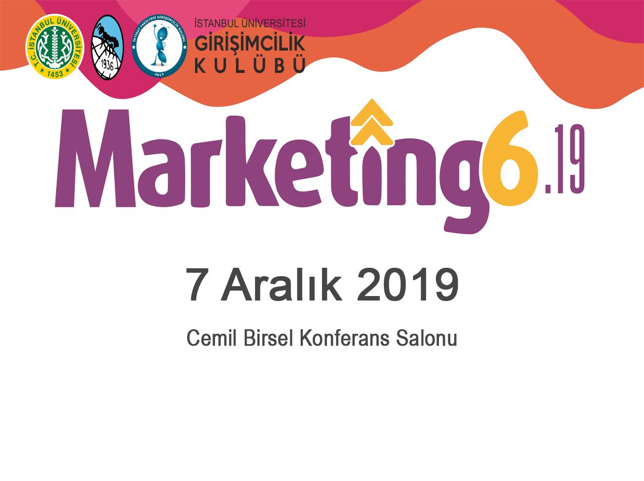 Marketing 6.19 Zirvesi 7 Aralık'ta