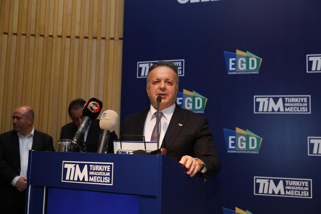 TİM Başkanı İsmail Gülle
