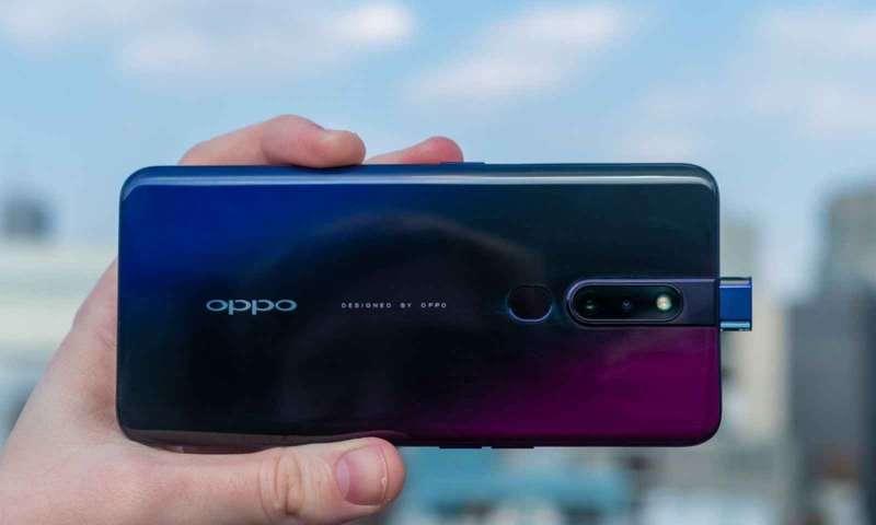 Oppo Yandan Açılır Kamera