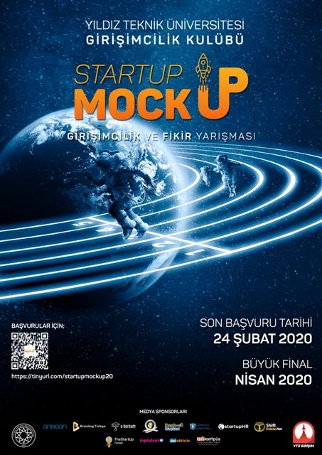 Startup Mockup 2020 - Afiş