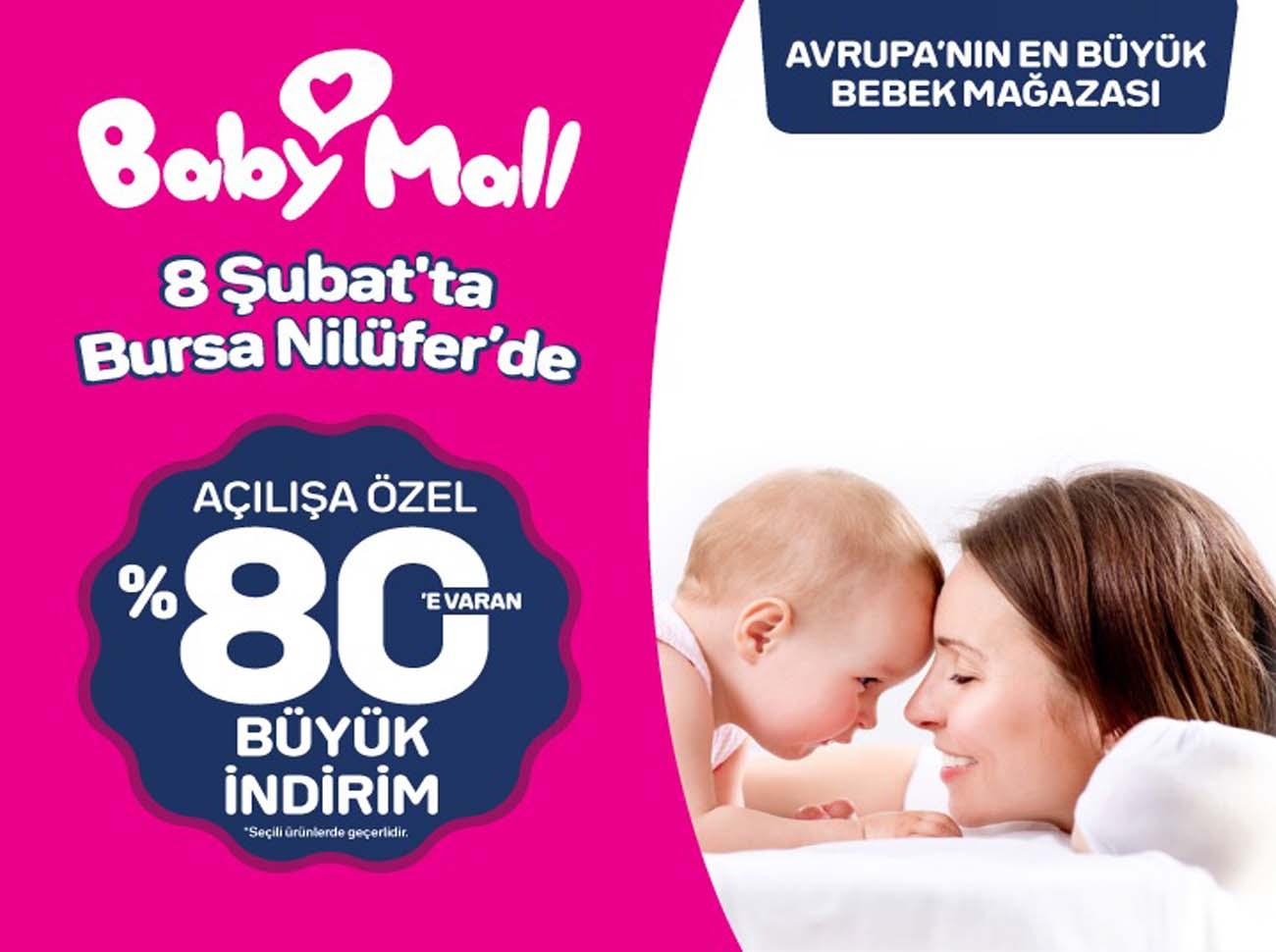 Avrupa'nın En Büyük Bebek Mağazası BabyMall Bursa'da