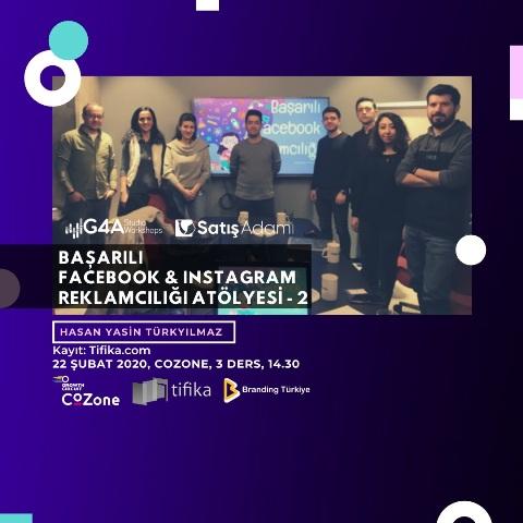 Facebook Ve Instagram Reklamcılığı Eğitimi 22 Şubat - Afiş