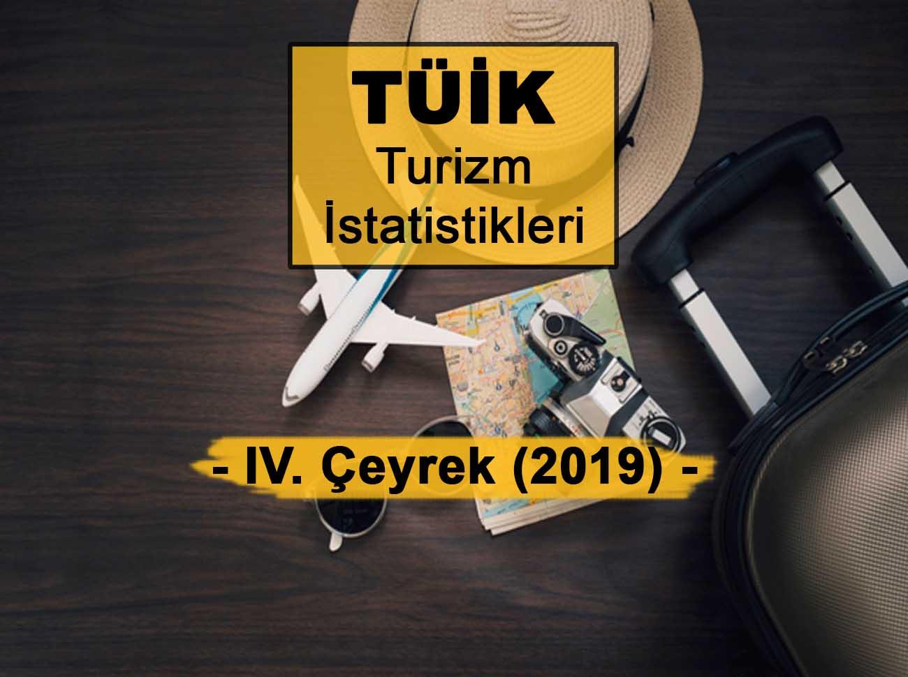 Turizm İstatistikleri Ekim Aralık 2019