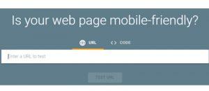 Google Mobile Uyumluluk