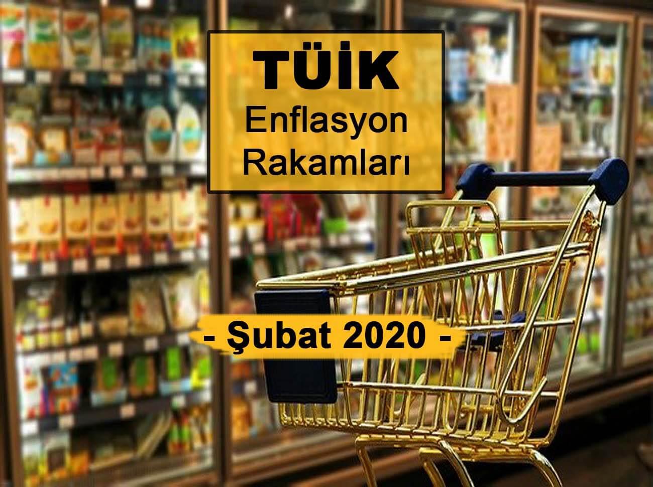 Enflasyon Rakamları (Şubat 2020) Açıklandı
