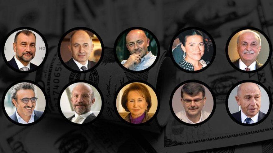 En Zengin 100 Türk Listesi - Afiş