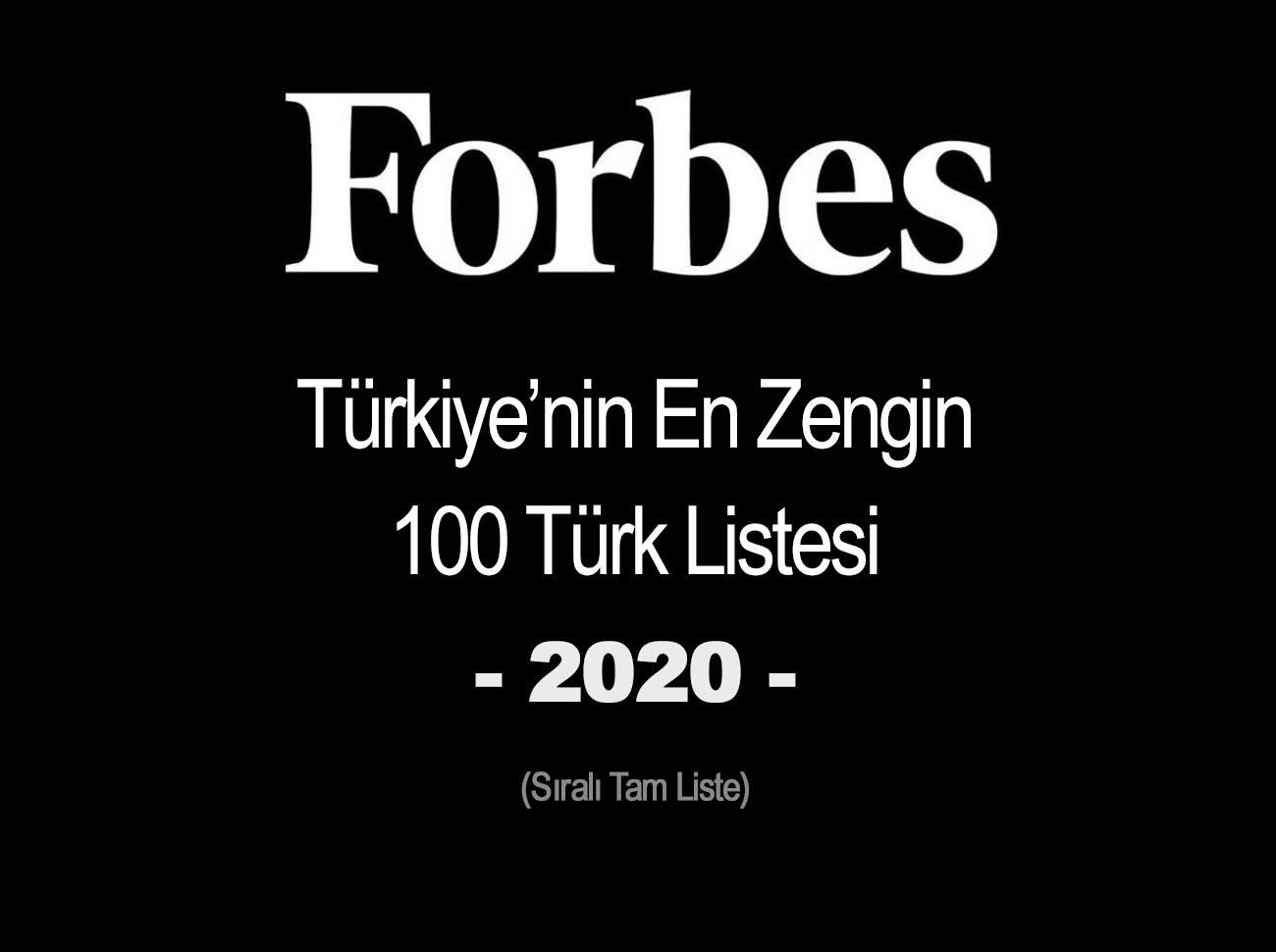 Forbes Türkiye En Zengin 100 Türk