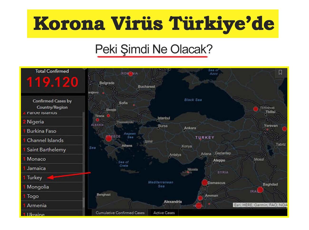 Korona Virüsü Türkiye'de! Peki Şimdi Ne Olacak?