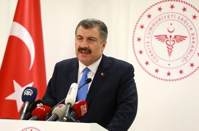 Sağlık Bakanı Fahrettin Koca Basın Açıklaması