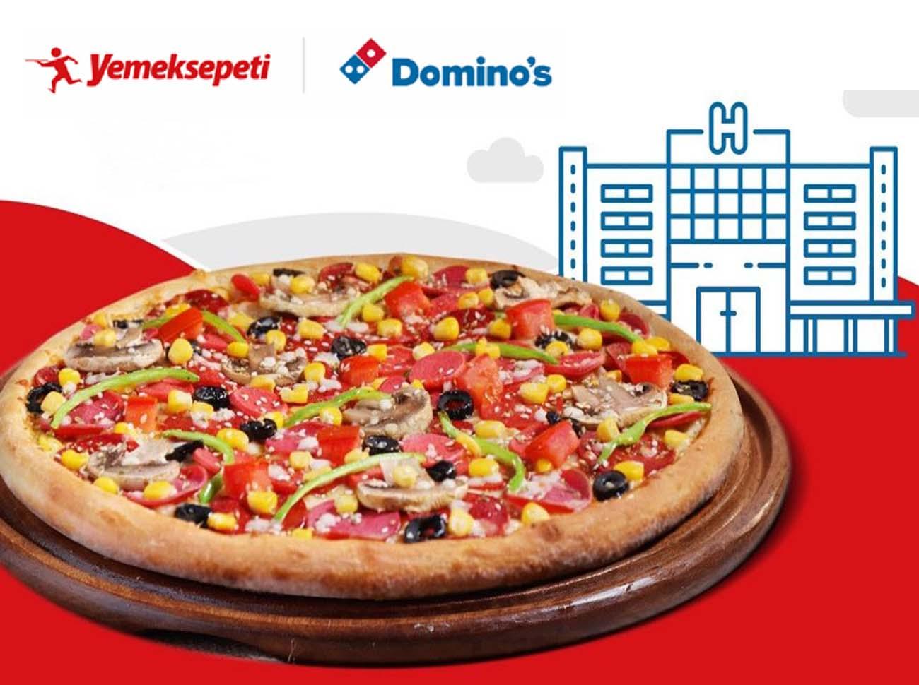 Dominos Ve Yemeksepeti'nden 150 Bin Pizza
