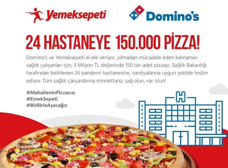 150 Bin Moral Pizzası