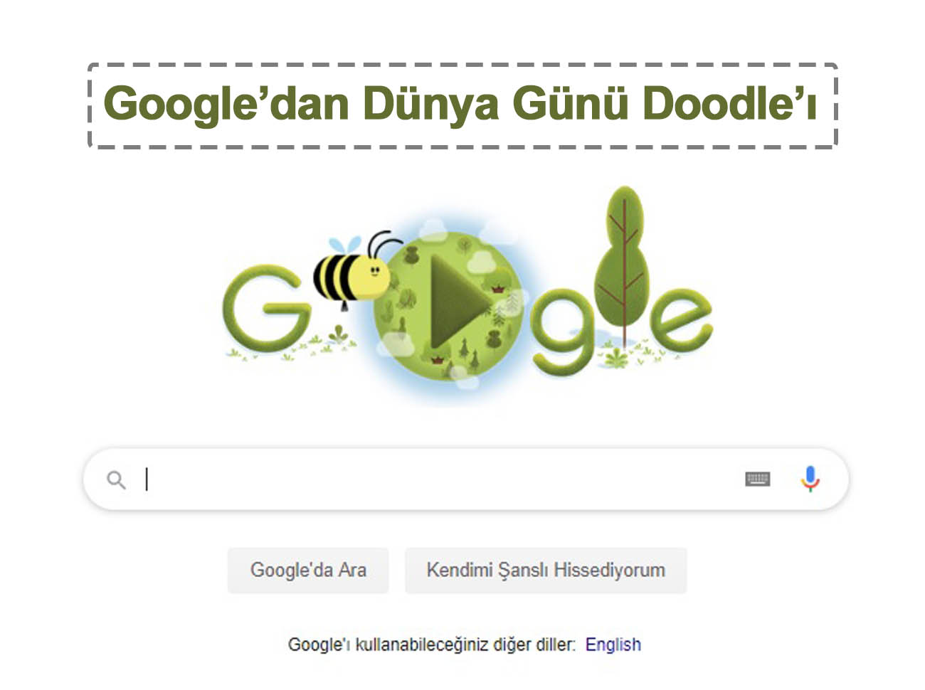 Google Dünya Günü 2020