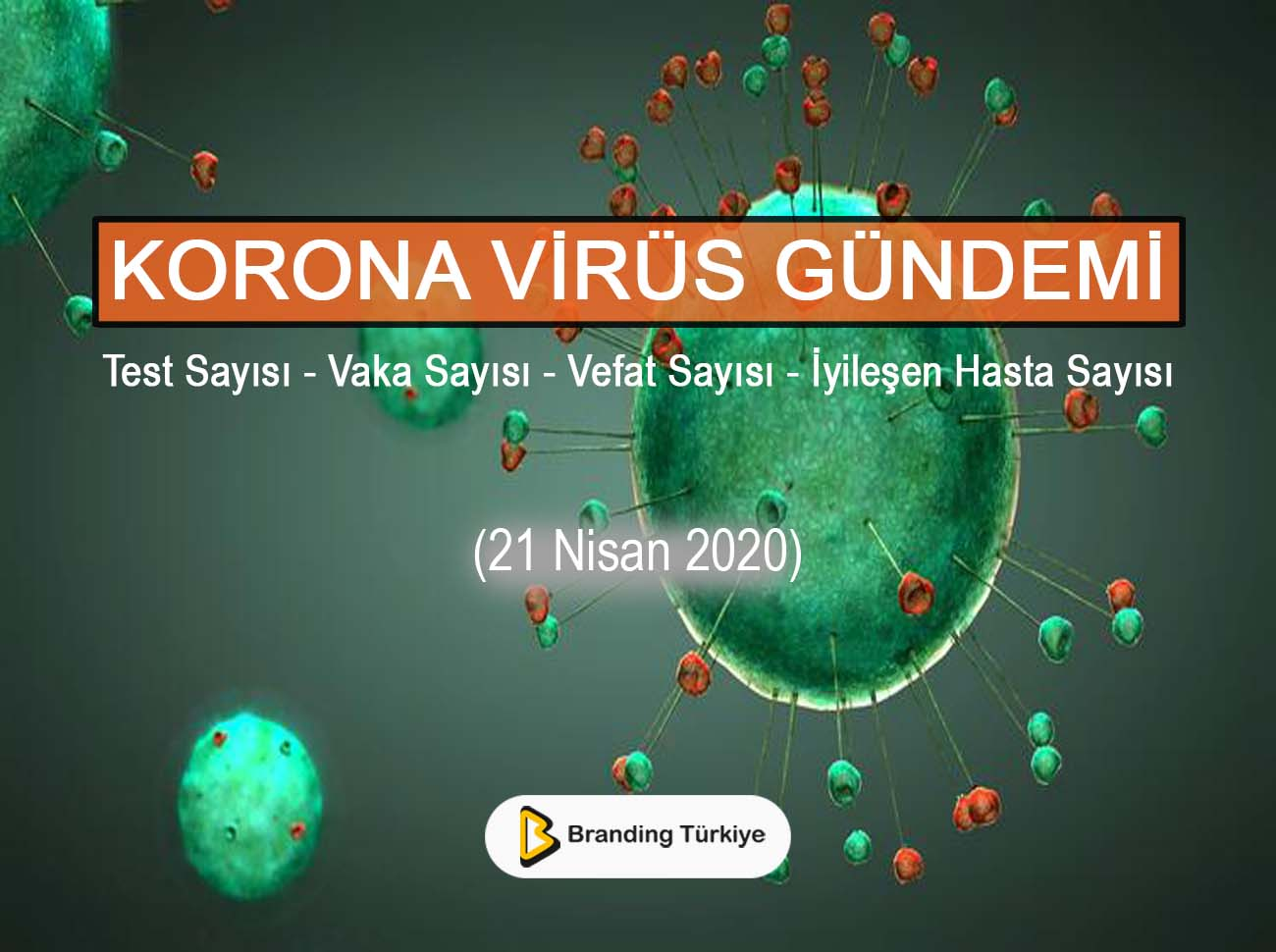 Korona Virüs Gündemi (21 Nisan 2020)