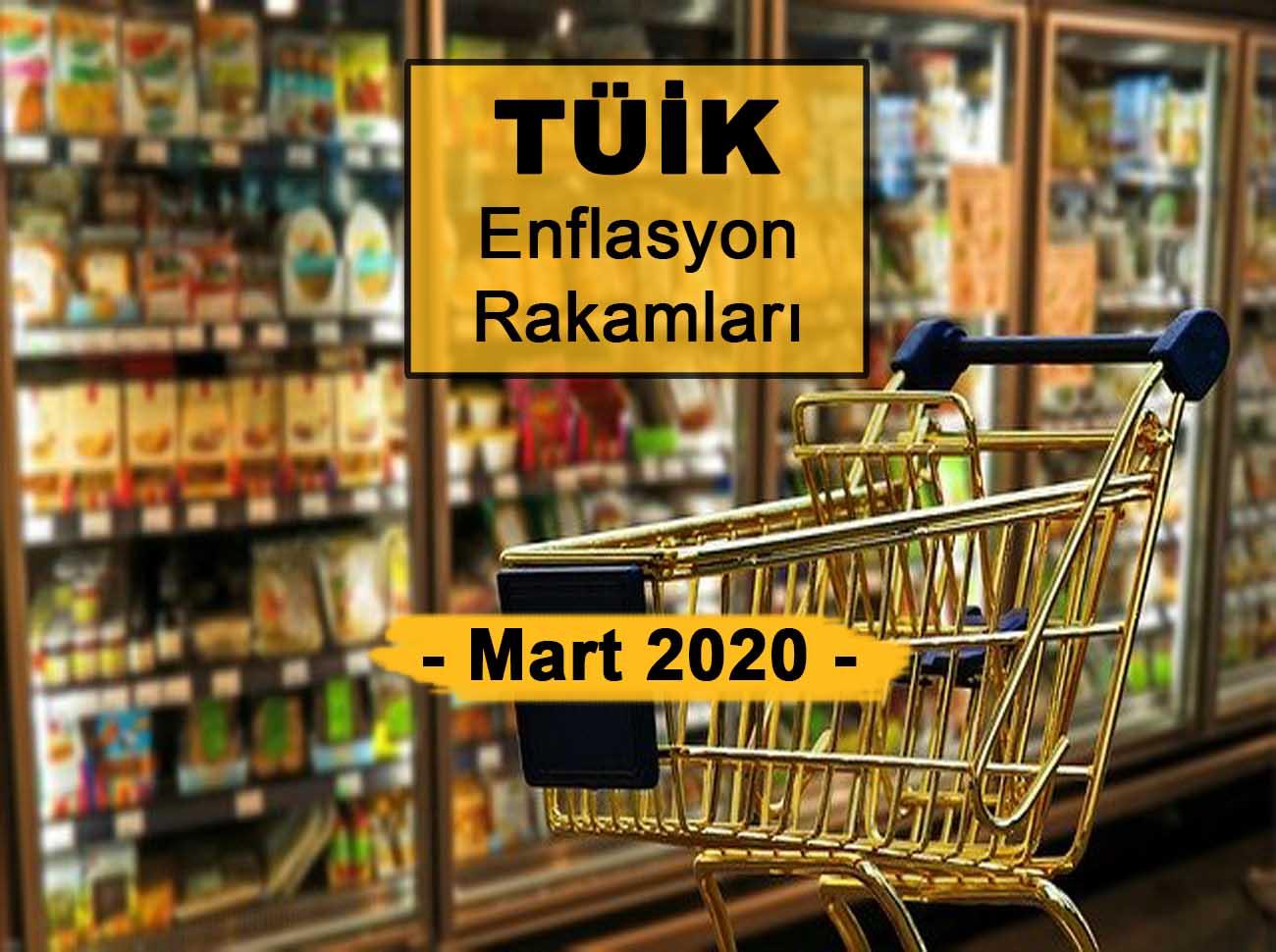 Enflasyon Rakamları (Mart 2020) Açıklandı