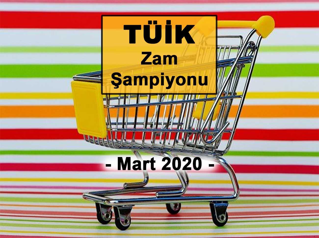 Mart (2020) Zam Şampiyonu
