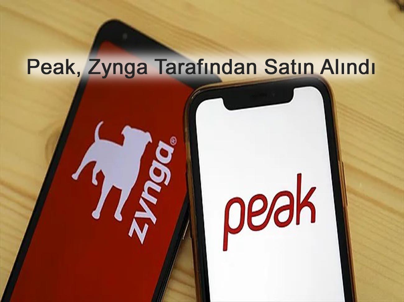 Peak, Zynga Tarafından 1,8 Milyar Dolara Satın Alındı
