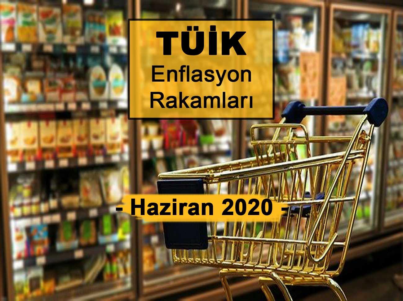 Enflasyon Rakamları (Haziran 2020)