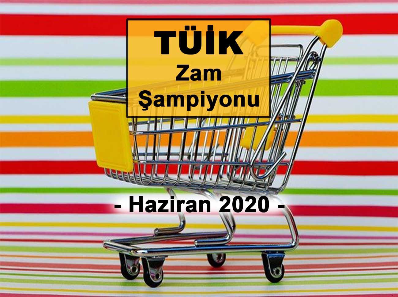 Haziran (2020) Zam Şampiyonu Taze Fasulye Oldu