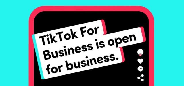 Teknoloji Haberleri (22 - 30 Haziran 2020) - TikTok For Business