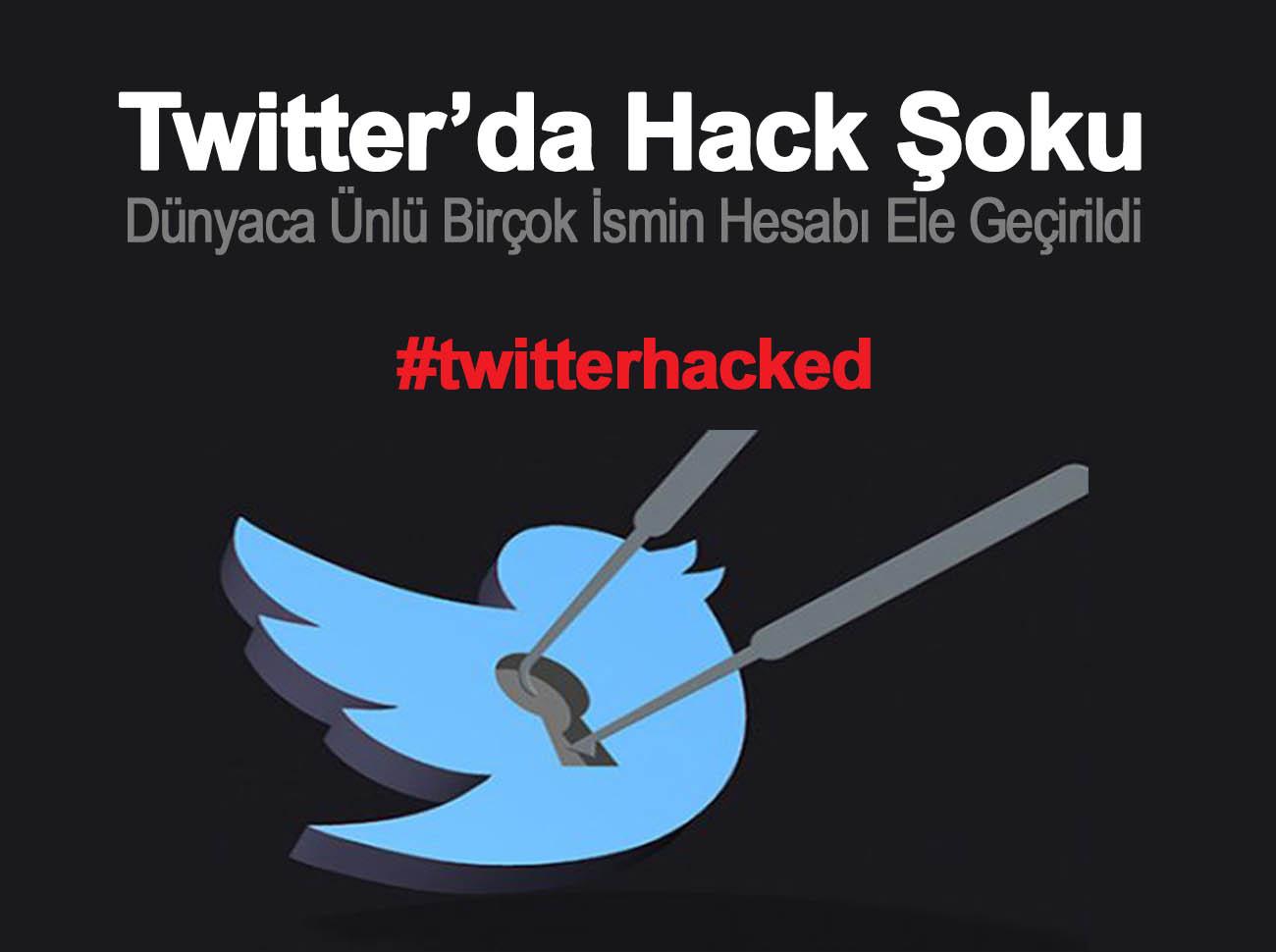 Twitter'da Hack Şoku Ünlü İsimlerin Twitter Hesabı Çalındı