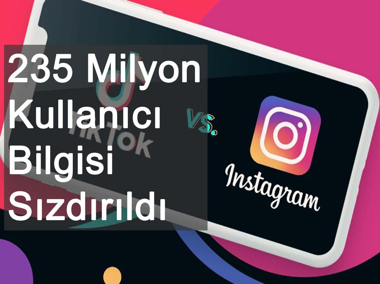 235 Milyon TikTok Instagram Youtube Bilgisi Sızdırıldı