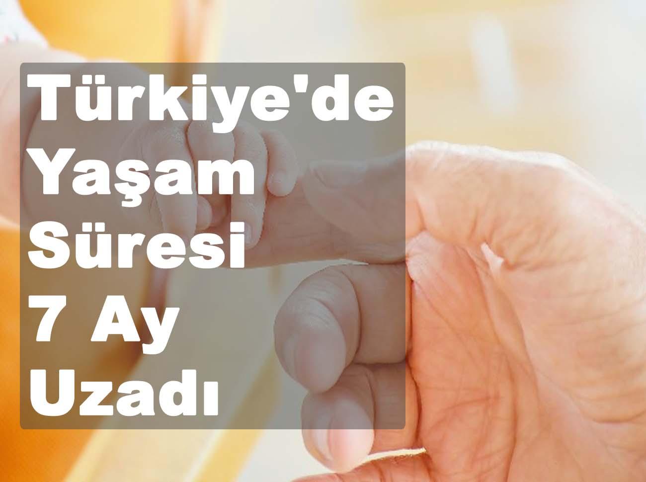 Türkiye'de Beklenen Yaşam Süresi (2020)
