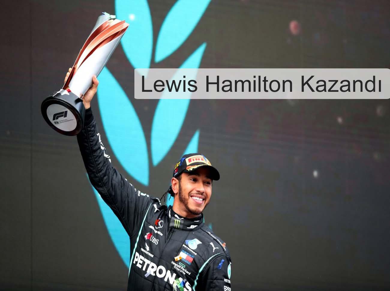 Formula 1 Türkiye Şampiyonu Hamilton