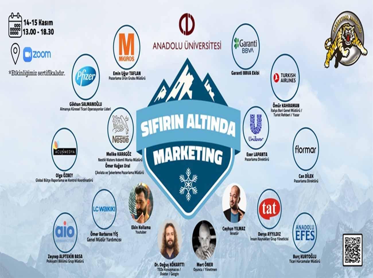 Sıfırın Altında Marketing İçin Geri Sayım