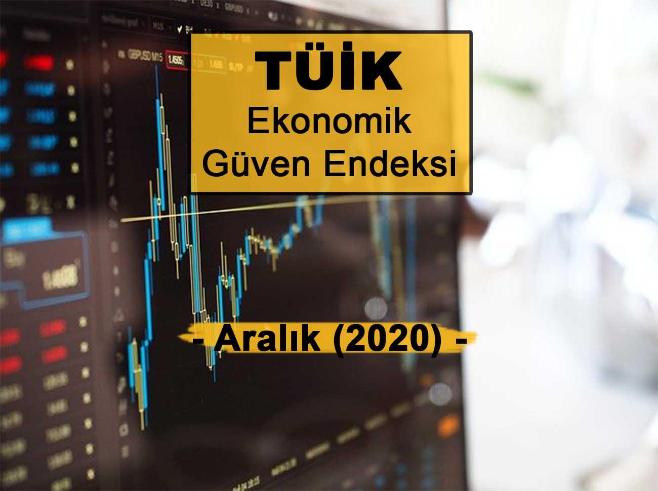Ekonomik Güven Endeksi (Aralık 2020)