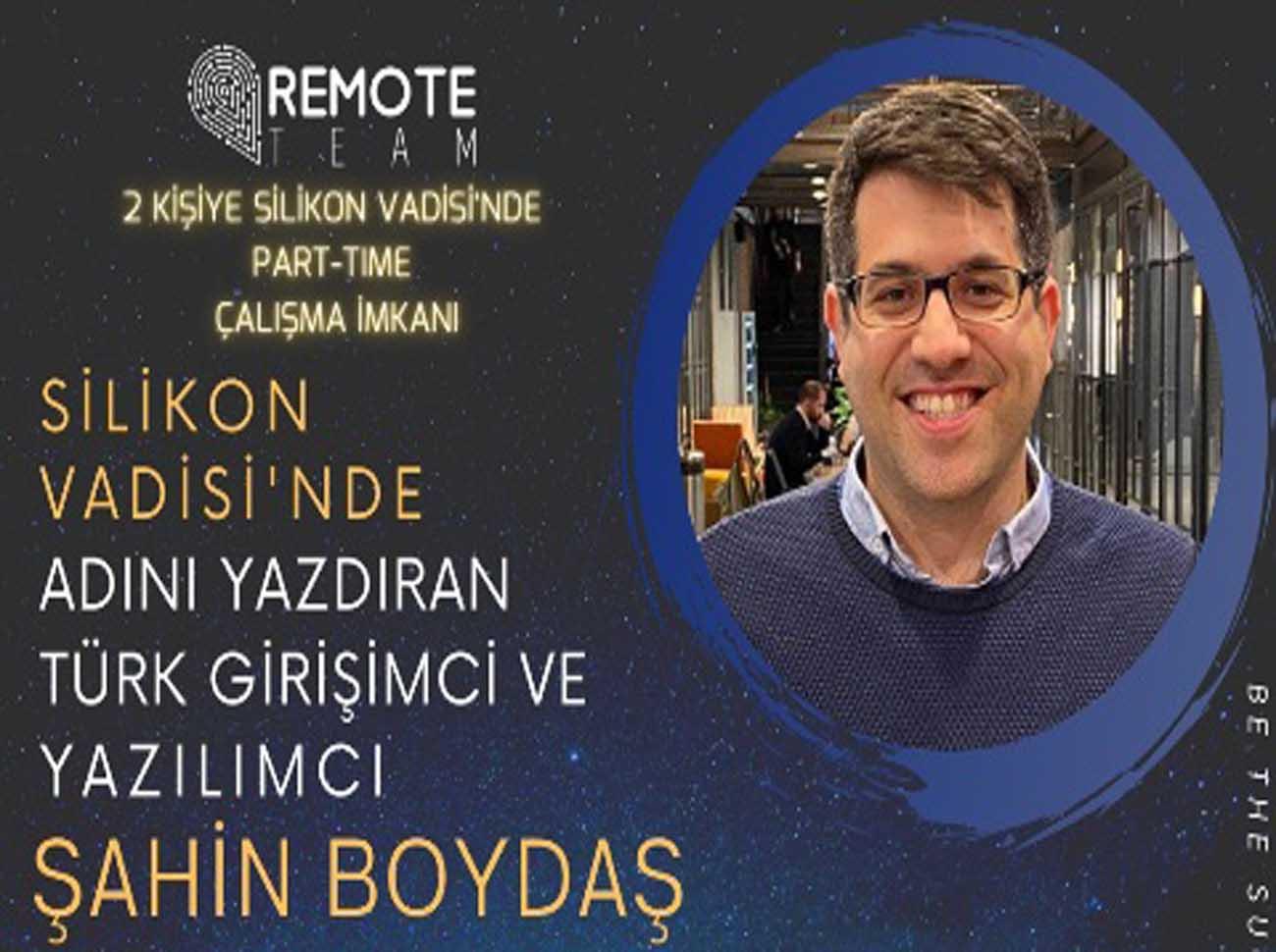 Silikon Vadisi'ne Adını Yazdıran Türk Girişimci Softwebinar Etkinliğinde