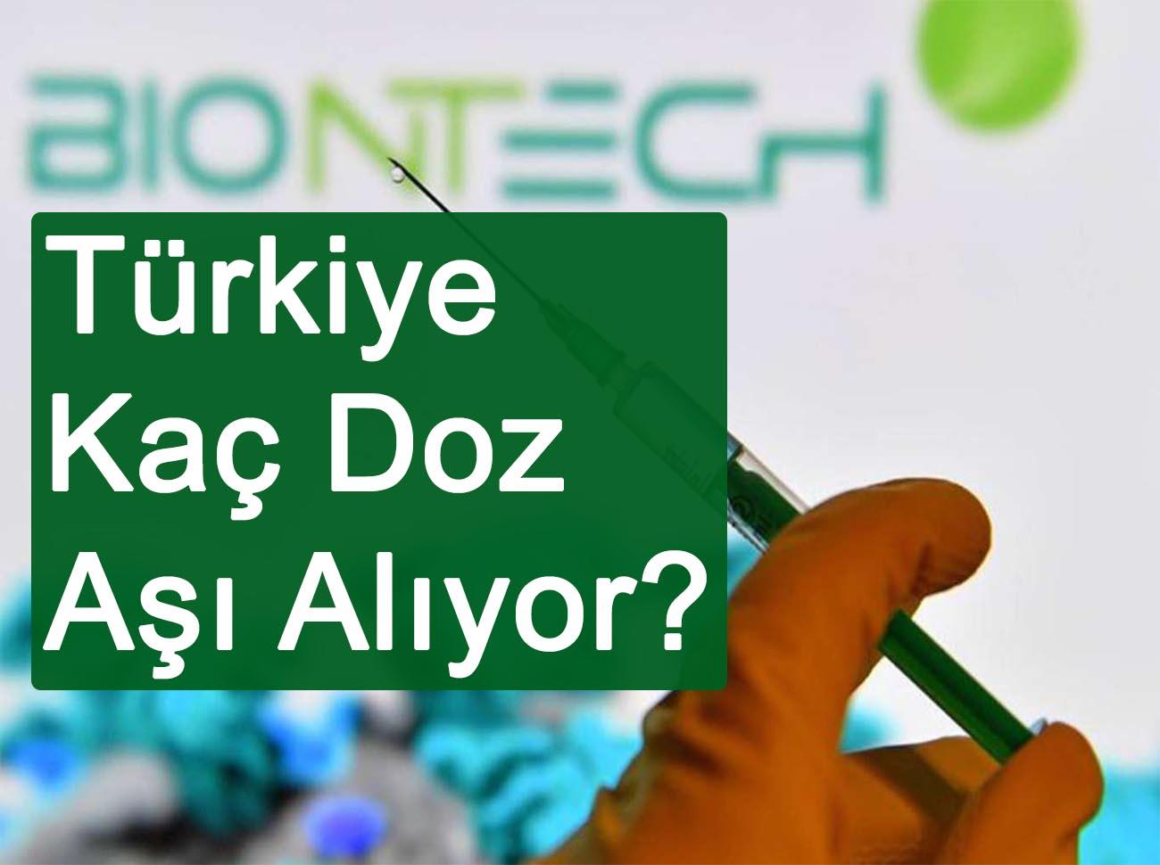 Türkiye BioNTech İle Kaç Dozluk Aşı Anlaşması Yaptı?