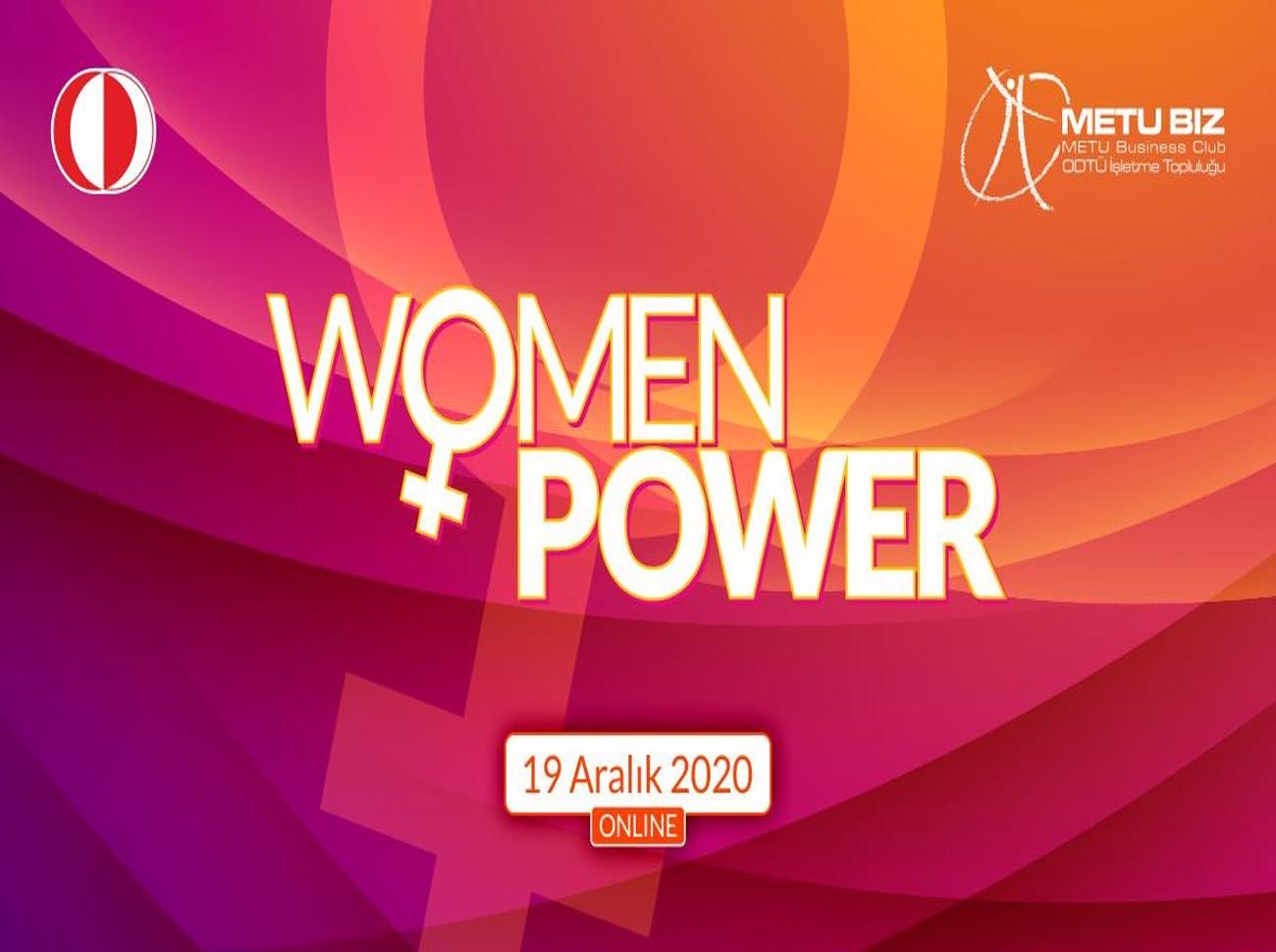 Women Power Etkinliği İçin Geri Sayım