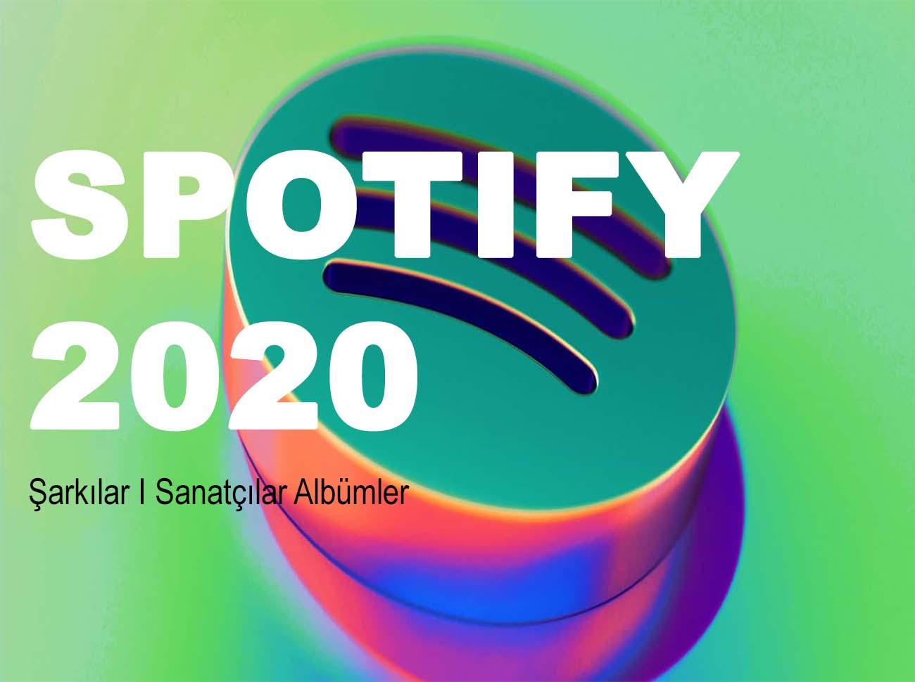 Spotify 2020 Yılının İstatistiklerini Açıkladı