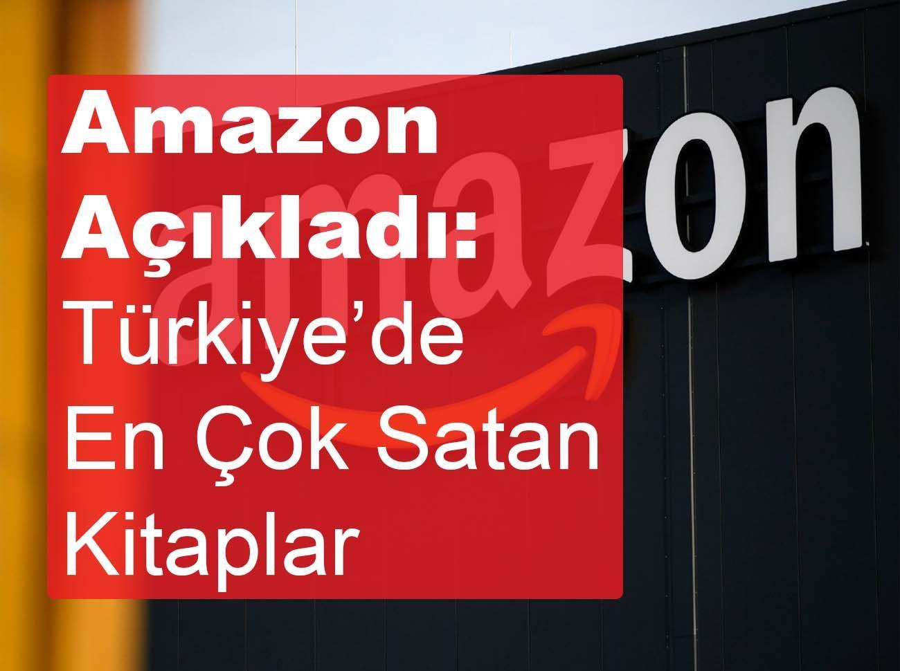 Amazon 2020'de Türkiye'de En Çok Satılan Kitapları Açıkladı