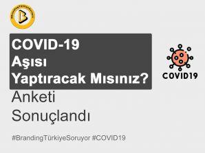Covid-19 Aşısı Yaptıracak Mısınız Anketi Sonuçlandı