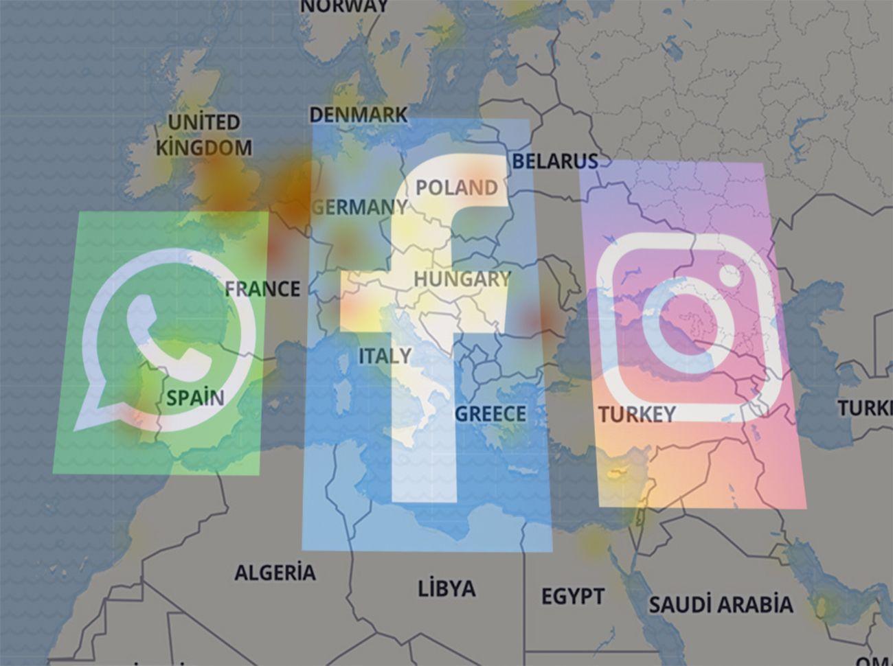 Instagram Whatsapp Facebook Çöktü: Fotoğraflar Yüklenmedi