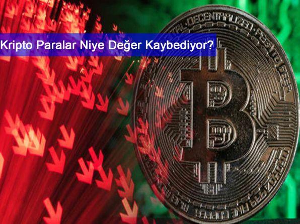 Kripto Para Piyasasındaki Sert Düşüşün Sebebi Ne?