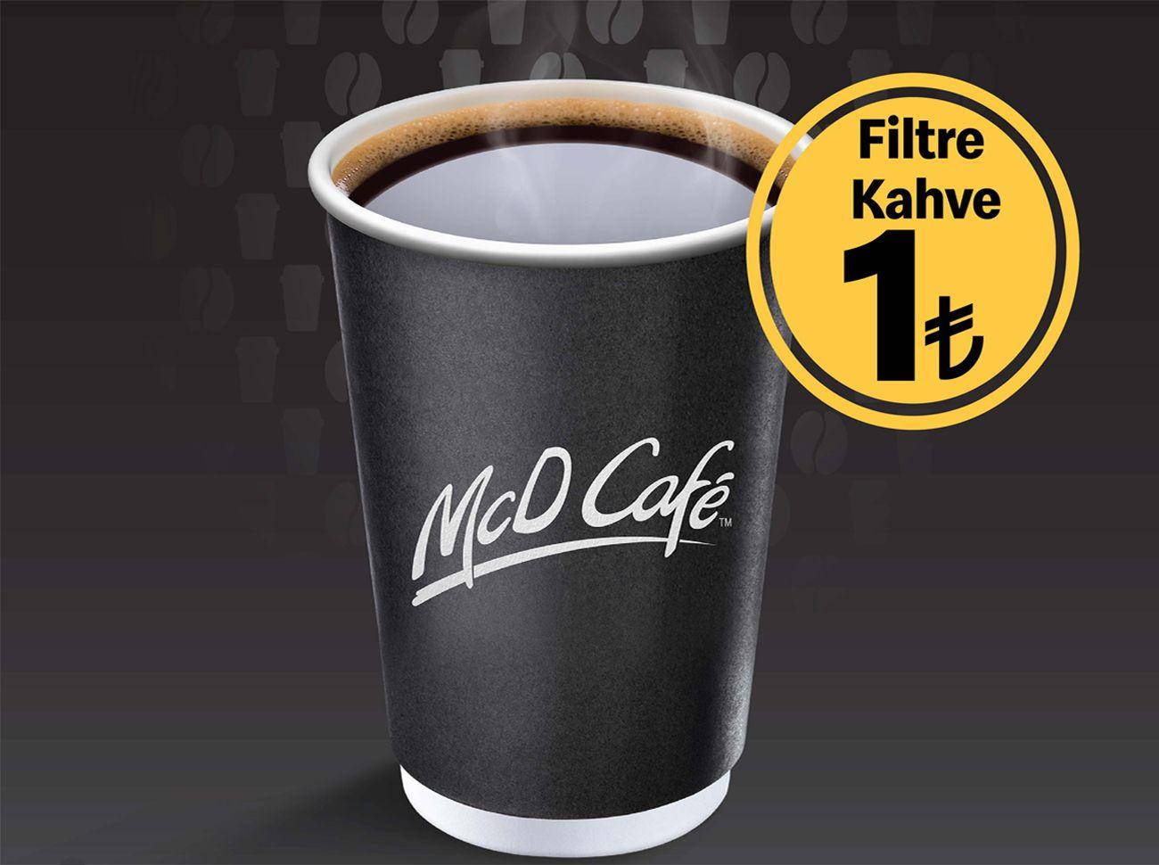 McDonald's'tan İyi Kahve İyi Fiyata Kampanyası