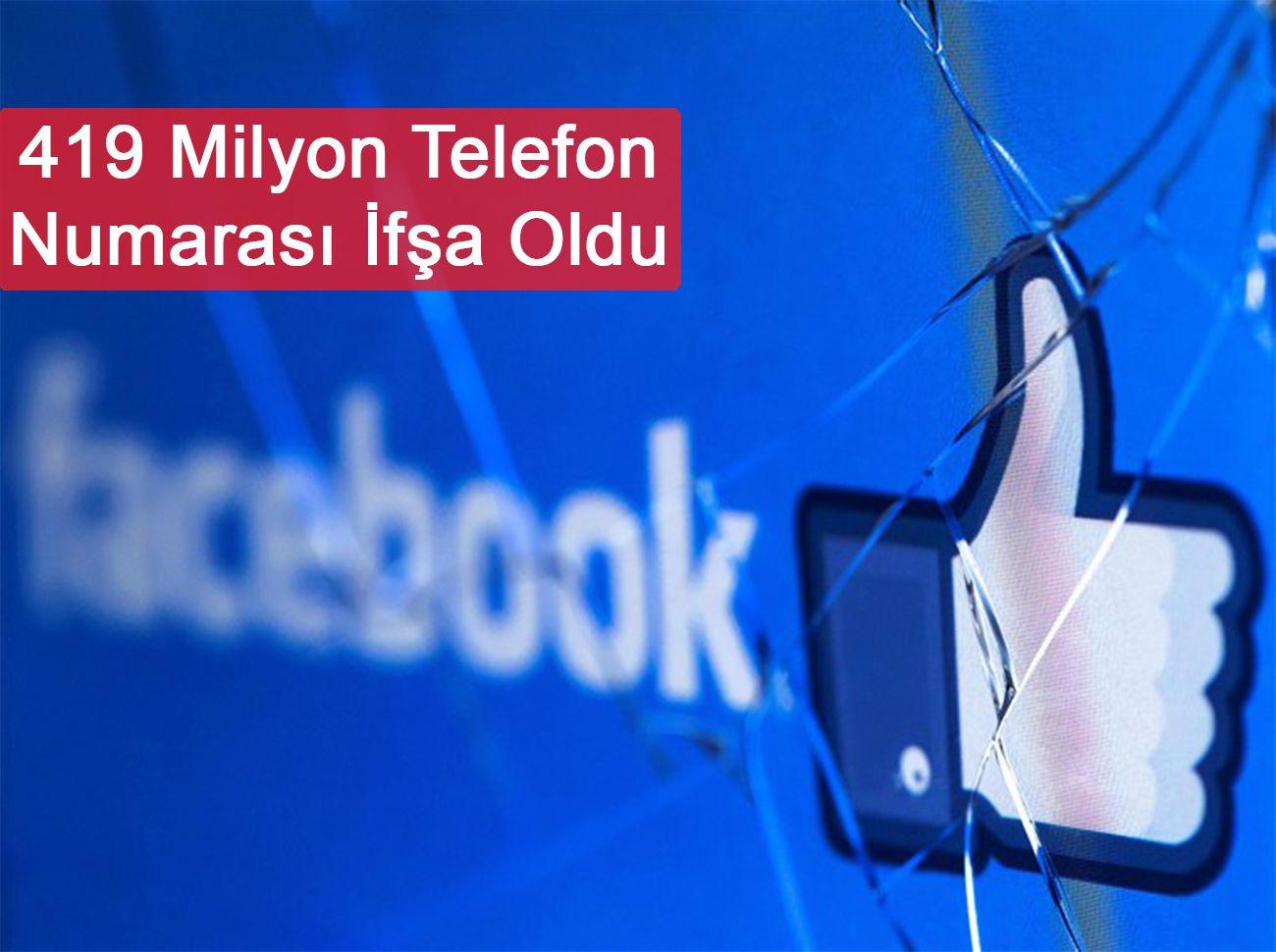 Milyonlarca Facebook Kullanıcısının Telefon Numarası İfşa Oldu
